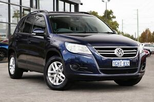 2010 Volkswagen Tiguan 5N MY11 103TDI 4MOTION Blue 6 Speed Manual Wagon Osborne Park Stirling Area Preview