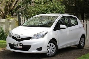 2014 Toyota Yaris NCP130R YR White 4 Speed Automatic Hatchback Hawthorn Mitcham Area Preview