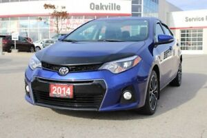 2014 Toyota Corolla S w/Leather & Backup Camera