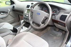 2003 Ford Fairmont BA Silver 4 Speed Auto Seq Sportshift Sedan Briar Hill Banyule Area Preview
