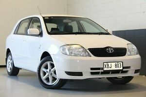 2004 Toyota Corolla White Automatic Hatchback Hillcrest Port Adelaide Area Preview