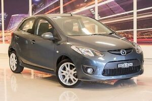 2008 Mazda 2 DE10Y1 Genki Grey 4 Speed Automatic Hatchback Blacktown Blacktown Area Preview