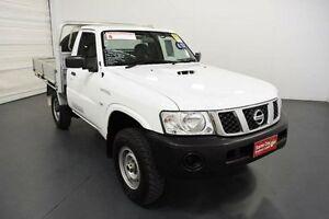 2012 Nissan Patrol MY11 Upgrade DX (4x4) White 5 Speed Manual Moorabbin Kingston Area Preview