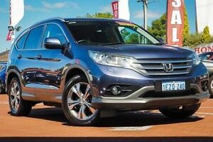 2014 Honda CR-V RM MY14 DTi-L 4WD Blue 5 Speed Sports Automatic Wagon Myaree Melville Area Preview