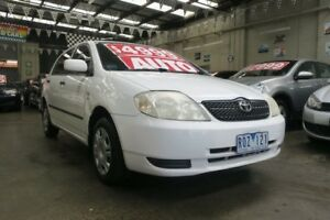 2002 Toyota Corolla ZZE122R Ascent Seca 4 Speed Automatic Hatchback Mordialloc Kingston Area Preview