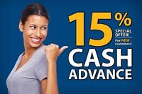 CHEAPEST PAYDAY LOAN AT 15% FOR UP TO $1500!!!!