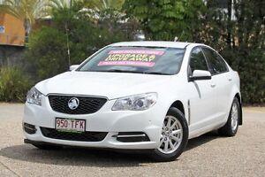 2013 Holden Commodore VF MY14 Evoke White 6 Speed Sports Automatic Sedan Underwood Logan Area Preview