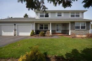 Large executive home in Wolfville with views of Minas Basin