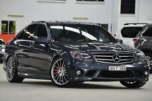 2010 Mercedes-Benz C63 W204 AMG Grey 7 Speed Automatic G-Tronic Sedan Coopers Plains Brisbane South West Preview