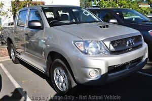 2010 Toyota Hilux KUN26R MY10 SR White 5 Speed Manual Utility Northbridge Perth City Area Preview