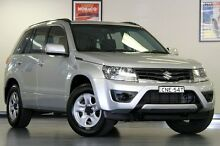 2013 Suzuki Grand Vitara JB MY13 Urban 2WD Silver 5 Speed Manual Wagon North Willoughby Willoughby Area Preview