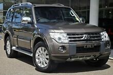 2010 Mitsubishi Pajero NT MY11 Exceed Brown 5 Speed Sports Automatic Wagon Wantirna South Knox Area Preview