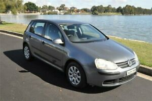 2005 Volkswagen Golf 1K 2.0 FSI Comfortline Grey 6 Speed Tiptronic Hatchback