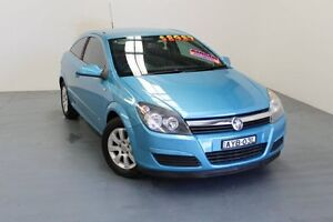2005 Holden Astra AH MY05 CDX Blue 4 Speed Automatic Coupe Hamilton East Newcastle Area Preview