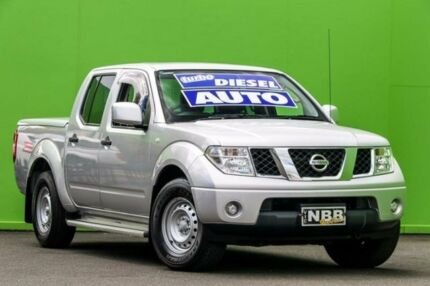 2014 Nissan Navara D40 S8 RX 4x2 Silver 5 Speed Automatic Utility Ringwood East Maroondah Area Preview