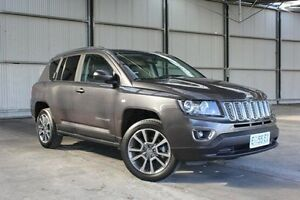 2014 Jeep Compass MK MY15 Limited CVT Auto Stick Grey 6 Speed Constant Variable Wagon Invermay Launceston Area Preview