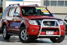 2011 Nissan Pathfinder R51 MY10 ST-L Red 6 Speed Manual Wagon Windsor Brisbane North East Preview