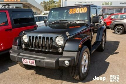 2013 Jeep Wrangler JK MY2014 Overland Black 5 Speed Automatic Hardtop