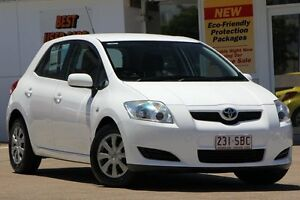 2007 Toyota Corolla ZRE152R Ascent White 4 Speed Automatic Hatchback Woolloongabba Brisbane South West Preview