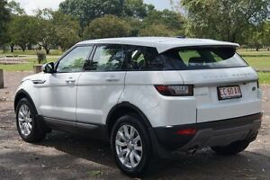 2016 Land Rover Range Rover Evoque L538 MY17 TD4 150 SE Fuji White 9 Speed Sports Automatic Wagon Winnellie Darwin City Preview