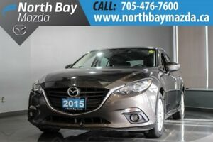 2015 Mazda Mazda3 Sport GS Automatic with Winter Tires, Heated S