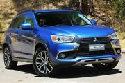 2016 Mitsubishi ASX XB MY15.5 LS 2WD Blue 6 Speed Constant Variable Wagon Hawthorn Mitcham Area Preview