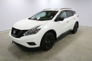 2018 Nissan Murano AWD MIDNIGHT 20 BLACK WHEELS, APPLE CARPLAY &