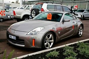 2008 Nissan 350Z Z33 MY07 Touring Carbon Silver 5 Speed Sports Automatic Coupe
