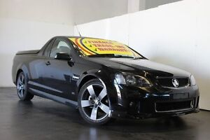 2012 Holden Commodore VE II MY12 SV6 Black 6 Speed Manual Utility Underwood Logan Area Preview