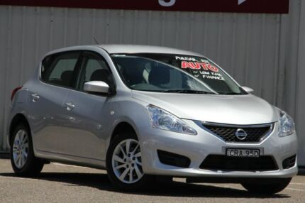 2013 Nissan Pulsar C12 ST Silver 1 Speed Constant Variable Hatchback Tuggerah Wyong Area Preview