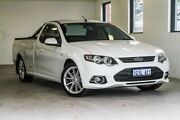 2012 Ford Falcon FG MkII XR6 Super Cab EcoLPi White 6 Speed Sports Automatic Cab Chassis Melville Melville Area Preview