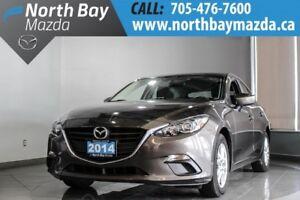 2014 Mazda Mazda3 GS-SKY With Bluetooth, Heated Seats