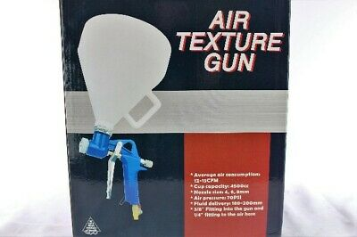 Ceiling Wall Texture Air Hopper Spray Gun Paint Drywall Painting 3 Nozzles