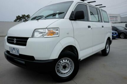 3c7b21311a 2014 Suzuki APV White 5 Speed Manual Van