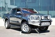 2015 Toyota Hilux GUN126R SR5 Double Cab Grey 6 Speed Manual Utility Cardiff Lake Macquarie Area Preview