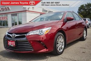 2015 Toyota Camry LE with Upgrade Pkg