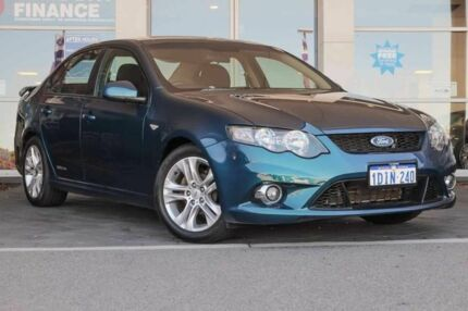2010 Ford Falcon FG XR6 Green 5 Speed Sports Automatic Sedan Mindarie Wanneroo Area Preview