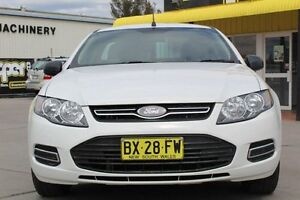 2013 Ford Falcon FG MkII Ute Super Cab White 6 Speed Sports Automatic Utility Telarah Maitland Area Preview