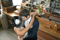 Professional wedding photography services...