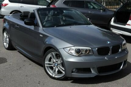 2013 BMW 125I E88 LCI MY1112 Steptronic Grey 6 Speed Sports Automatic Convertible