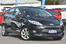 2009 Ford Fiesta WS Zetec Black 4 Speed Automatic Hatchback Maylands Bayswater Area Preview