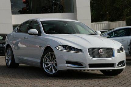 2014 Jaguar XF X250 MY15 Premium Luxury Polaris White 8 Speed Auto Seq Sportshift Sedan Southport Gold Coast City Preview
