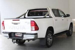2015 Toyota Hilux GUN126R SR5 Double Cab Glacier White 6 Speed Sports Automatic Utility