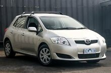 2009 Toyota Corolla ZRE152R MY09 Ascent Silver 4 Speed Automatic Hatchback Ringwood East Maroondah Area Preview