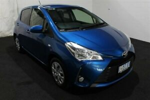 2018 Toyota Yaris NCP131R SX Blue 4 Speed Automatic Hatchback Glenorchy Glenorchy Area Preview