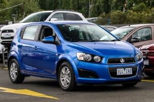 2016 Holden Barina TM MY16 CD Blue 6 Speed Automatic Hatchback Ringwood East Maroondah Area Preview