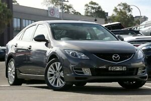 2008 Mazda 6 GH Classic Grey 5 Speed Auto Activematic Hatchback Dee Why Manly Area Preview