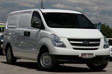 2010 Hyundai iLOAD TQ-V White 5 Speed Manual Van Kedron Brisbane North East Preview
