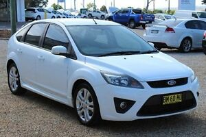2010 Ford Focus LV Zetec White 4 Speed Automatic Hatchback Windradyne Bathurst City Preview