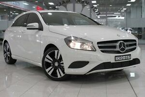 2014 Mercedes-Benz A200 176 MY14 CDI White 7 Speed Automatic Hatchback Waterloo Inner Sydney Preview